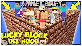 LA SFIDA DEI LUCKY BLOCK GIGANTI DEL NOOB! - Minecraft ITA