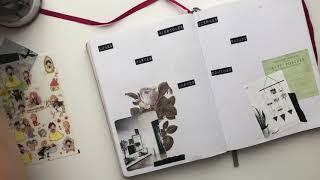 Bullet Journal Planea Conmigo 3ra Semana Agosto 2019 | Pulga Haza