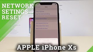 iPhone Xs Reset Network Settings / Fix Network Settings / iOS Network Defaults