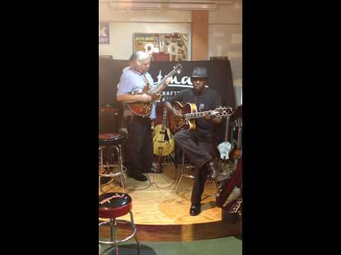 B Street Music's: Eastman Jazz Guitar Night 7/30/2014