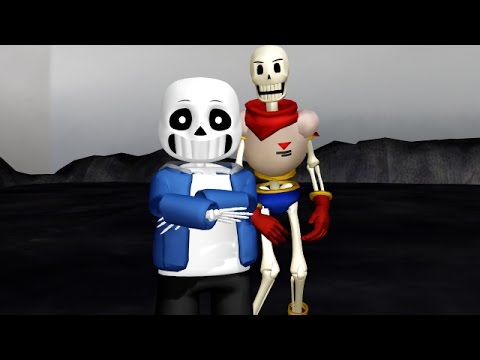 [MMD x Undertale] Spooky Scary Skeletons