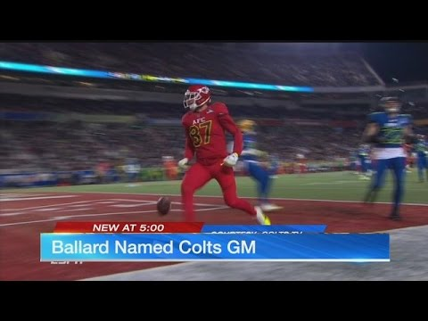 Chiefs executive heading to Indianapolis Colts