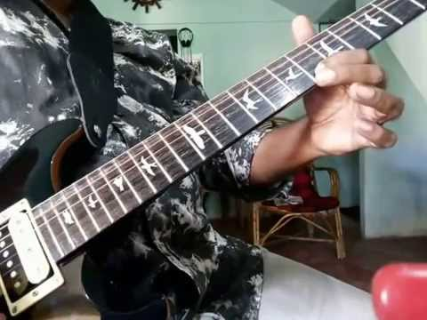 how to play malare song easy guitar lesson part 1