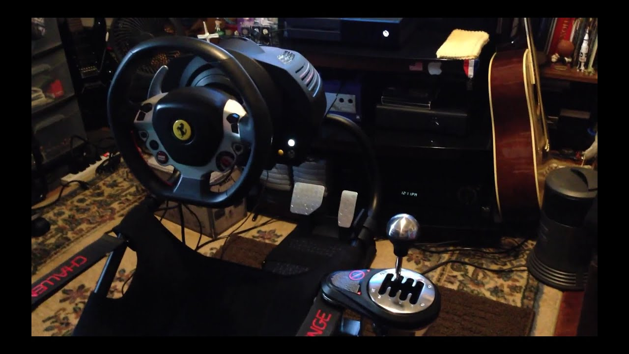 How to Mount TH8A Shifter to Playseat Challenge