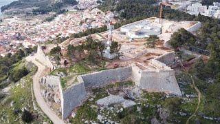 Obilazak radova na tvrđavi sv. Ivana