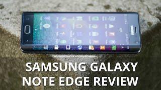 Samsung Galaxy Note Edge Review Videos