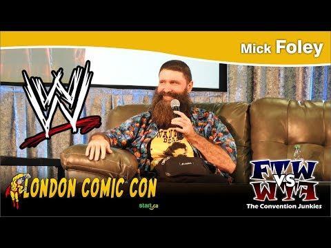 Mick Foley (World Wrestling Federation) London Comic Con 2017 Q&A Panel