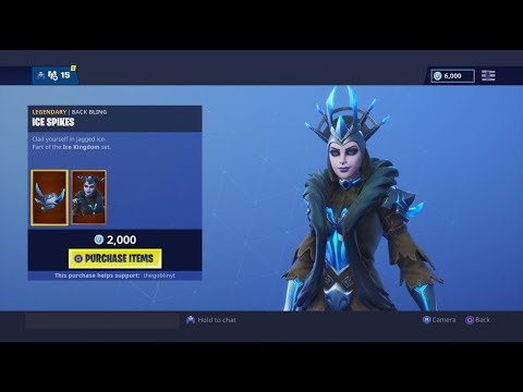 THE ICE QUEEN AND REAPER PICKAXE! FORTNITE ITEM SHOP JAN 19TH 2019 FORTNITE DAILY ITEM SHOP REFRESH!