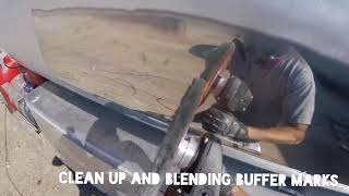 Cutting and finishing travel speed - how to polish aluminum