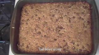 Gooey Peanut Butter Bars - Desert Recipe