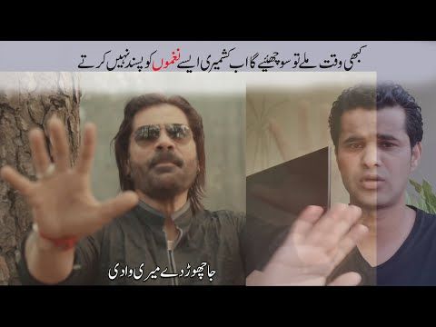 Why are people criticising  ''Ja Choor Day Meri Wadi'' mili Naghma by Abrar Qureshi