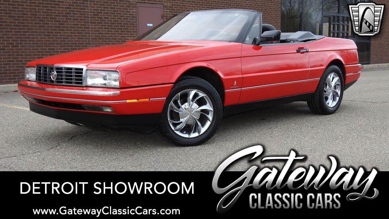 Gateway Auto Sales >> 1990 Cadillac Allante For Sale At Gateway Classic Cars Of Detroit 1603det