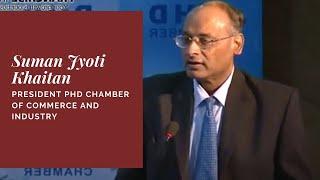 Suman Jyoti Khaitan  President PHD