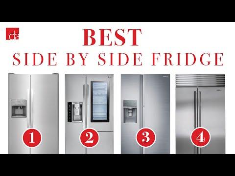 Side By Side Refrigerator - Top 4 Best Models