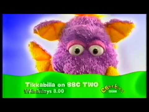 CBeebies on BBC Two Continuity - Monday 14th June 2004