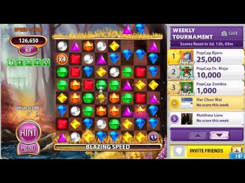 Bejeweled Blitz - 444 300 points in x5 (Booster Style, no rare gems)