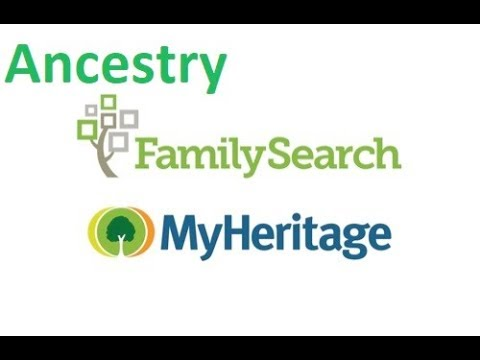 Researching family history with the major research sites Ancestry Family Search and My Heritage.