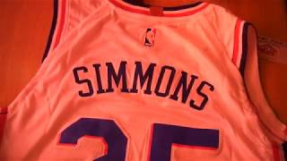 Баскетбольная форма Nike NBA Philadelphia 76ers Ben Simmons белая магазин Basket Family