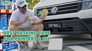 What is the Best Masking Tape for Painters?