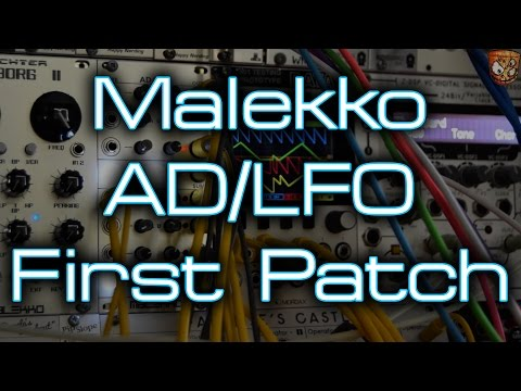 Malekko Heavy Industry - AD/LFO *FIRST PATCH*