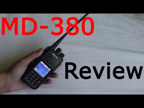 Cheap DMR radio: TYT MD-380 Review!