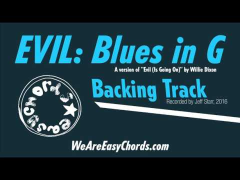 Howlin' Wolf: Evil - A Blues Backing Track in G mp3