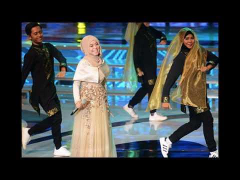 Lesti Anggun berhijah tampil secantik princess di putri Muslimah 2016