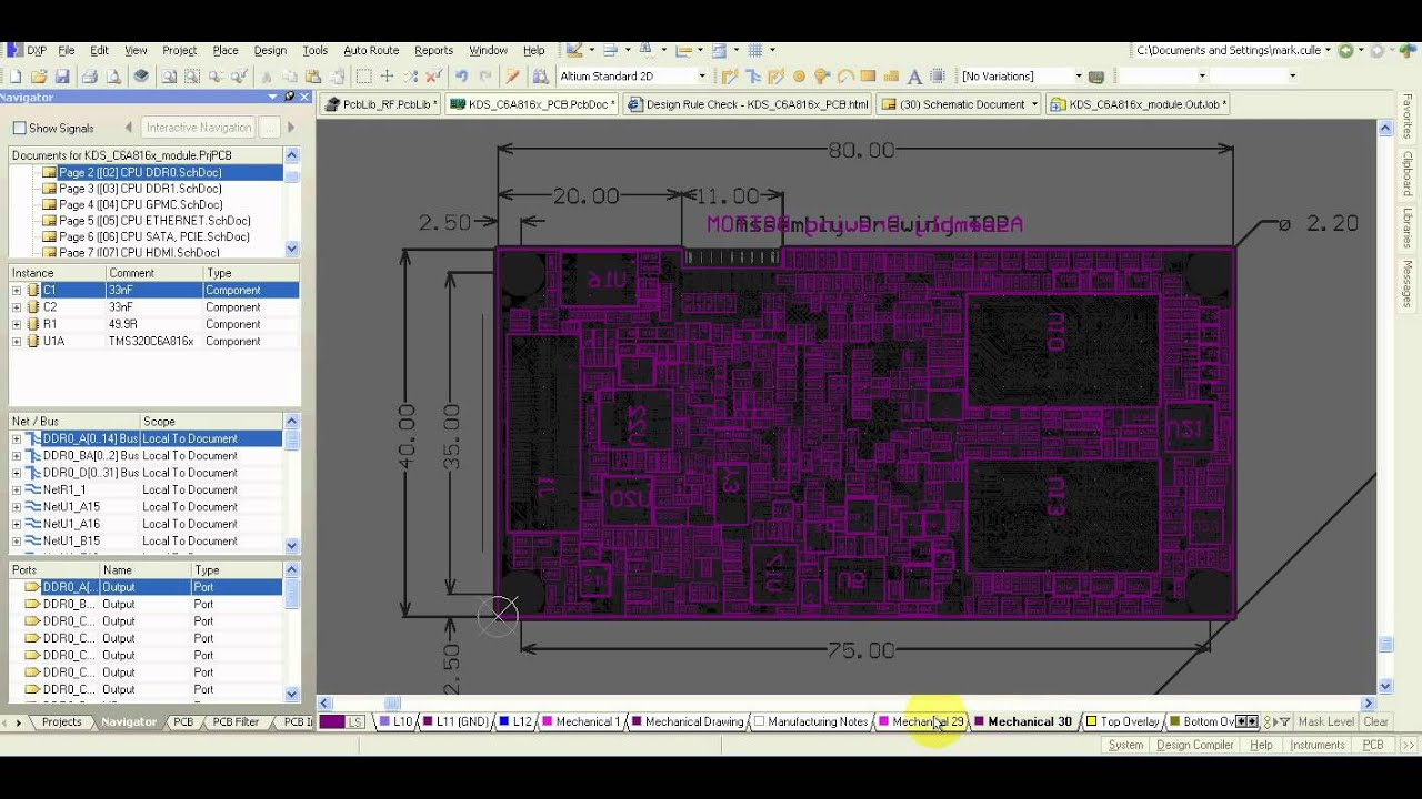 Altium Designer - How to Create Assembly Drawing Layers