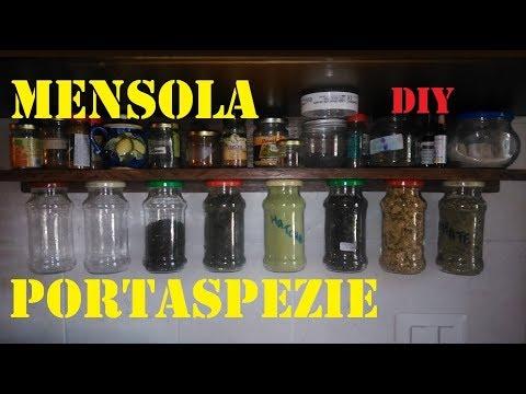 Mensola Portaspezie In Legno.Mensola Portaspezie Sospese Fai Da Te By Paolo Brada Diy