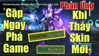 [Gcaothu] Phản ứng khi thấy skin mới Zephys Siêu Việt ra mắt - Gặp ngay phá game trong đêm