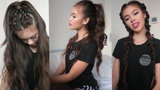3 Hairstyles for School   viviannnv