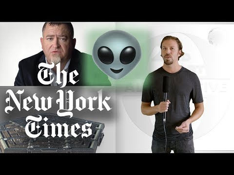 Is a fake ALIEN INVASION imminent? NY Times reports on UFOs and TomDelonge's PENTAGON insiders!