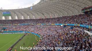 Brazil tell me how it feels! Argentinian fans! World Cup 2014 (Multilanguage)