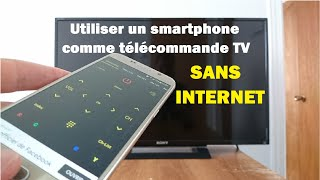 Utiliser son smartphone comme télécommande TV sans internet screenshot 3