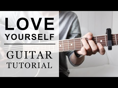 Justin Bieber  Love Yourself FAST Guitar Tutorial  EASY Chords