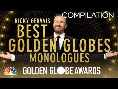 Golden Globes: Ricky Gervais' Best Monologues