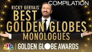 Golden Globes: Ricky Gervais' Best Monologues