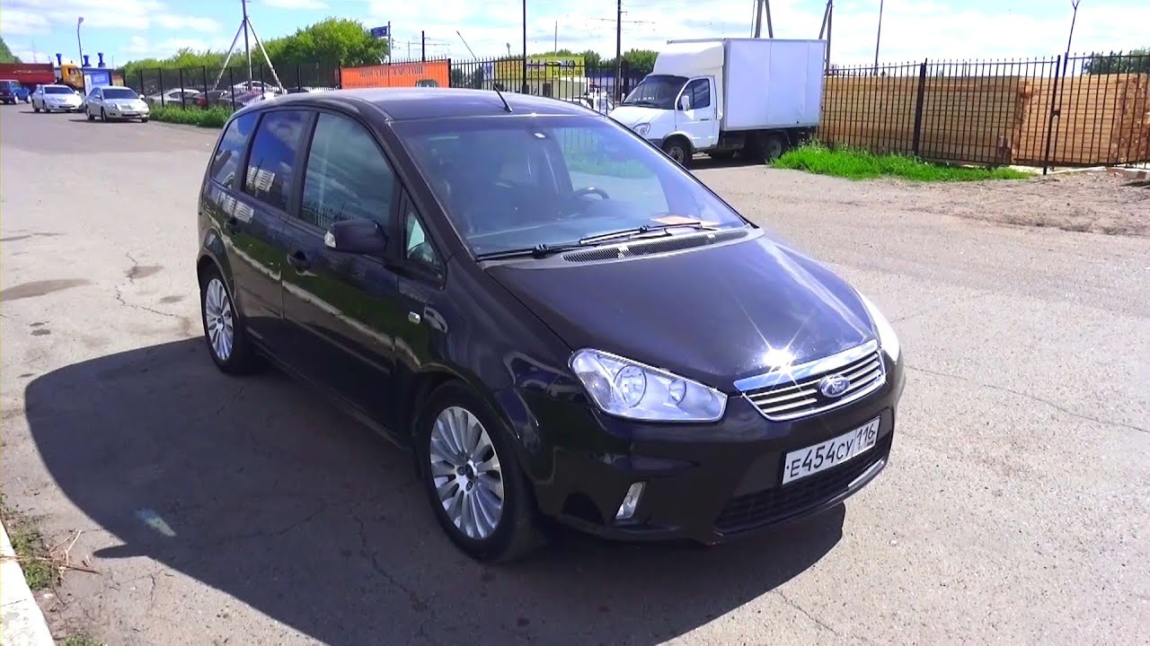 2008 ford c max ghia start up engine and in depth tour. Black Bedroom Furniture Sets. Home Design Ideas