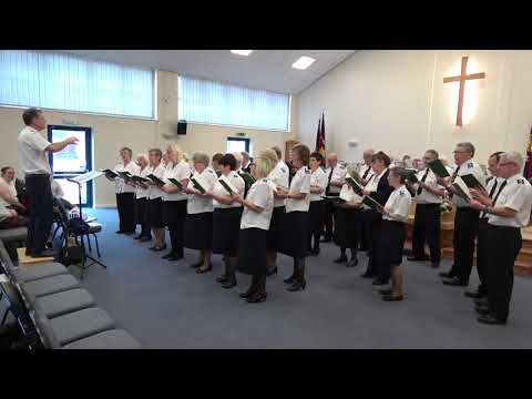 Scunthorpe Salvation Army Songsters  My Jesus I love thee
