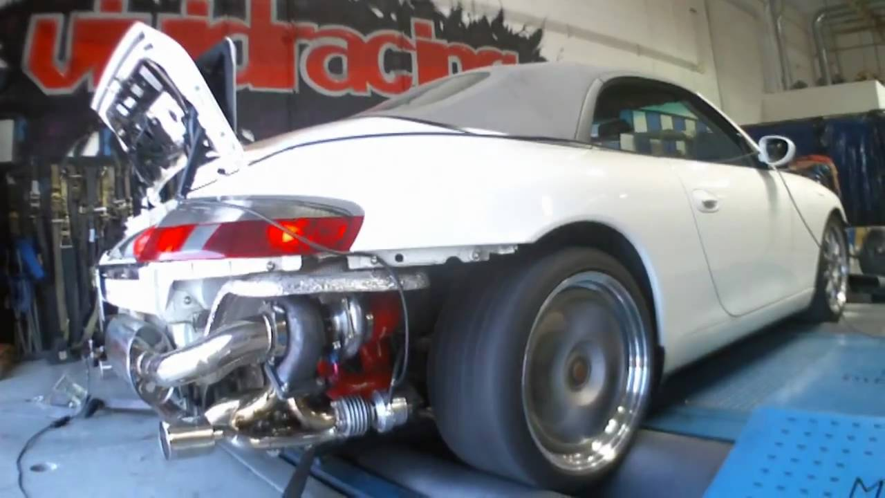Porsche 996 Turbo >> Porsche 996 C2 With TPC Turbo Kit Installed Boosted on Dyno - YouTube