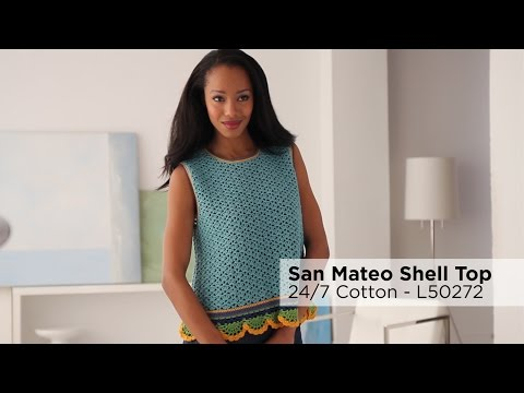 San Mateo Shell Top made with 24/7 Cotton