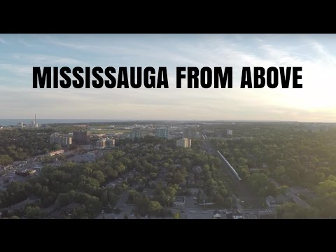 Mississauga from a Drones View
