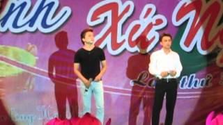 Ân tình xứ Nghệ 2012 - 2 giọng ca vàng xứ Nghệ trường KTQD