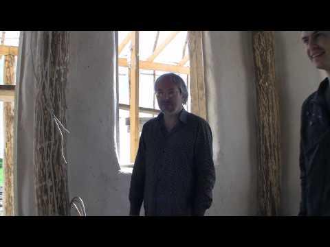 Дом из соломенных блоков Сергея Ерофеева (strawbale.ru)