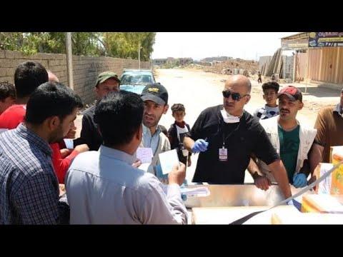 تجربة ناجحة..فرق شبابية تطوعية تساعد أهالي الموصل  - نشر قبل 1 ساعة