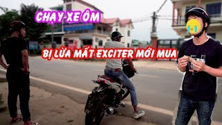 Hava Lii   Chạy Xe Ôm Bị Lừa Mất Xe   TRY NOT TO LAUGH CHALLENGE   funny video