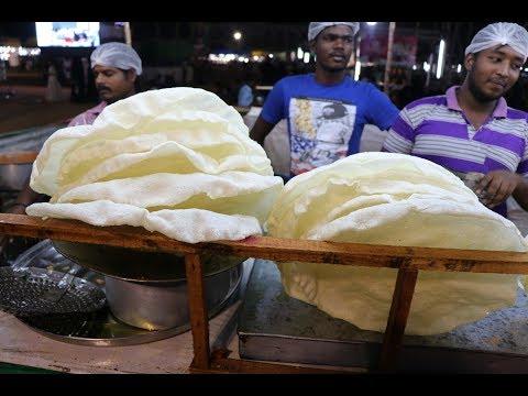 Making Biggest Papadum - Papad at Exhibition - Big Delhi appalam at Exhibition