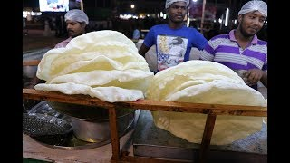 Making Biggest Papadum - Papad at Exhibition - Big Delhi appalam at Exhibition