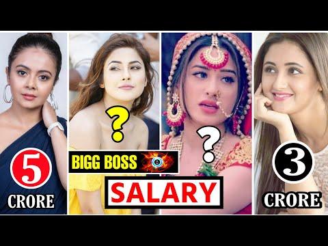 Bigg Boss 13 Contestants Salary Per Week Salary Of Bigg