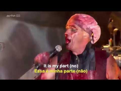 Rammstein  Mein Teil LegendadoSubtitled Hurricane Festival